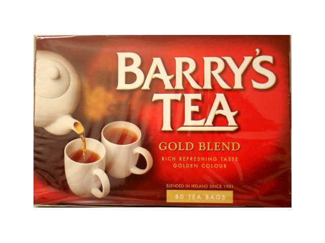Barry's Tea Gold Blend Tea bags 80s