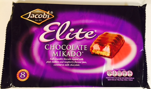 Jcobs Elite Chocolate Mikado Biscuits