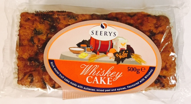 Seerys Whiskey Cake
