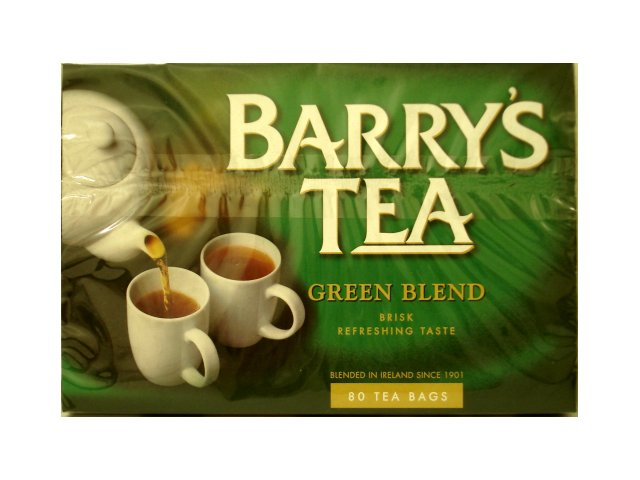 Barry\'s Tea Green Blend Tea Bags 80s
