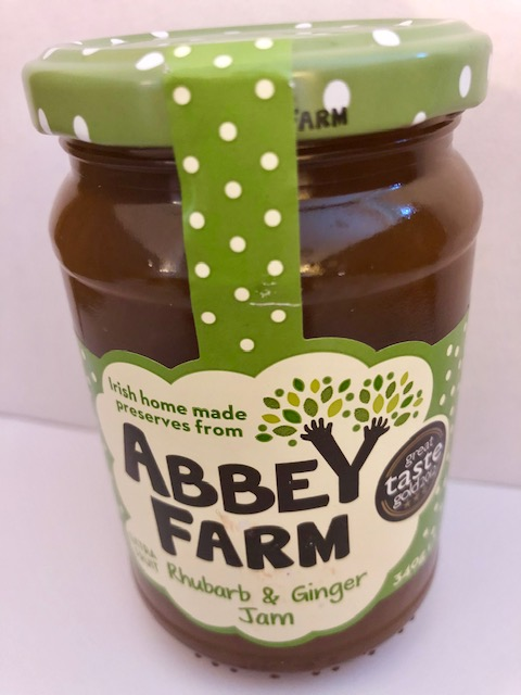 Abbey Farm Rhubarb & Ginger Jam