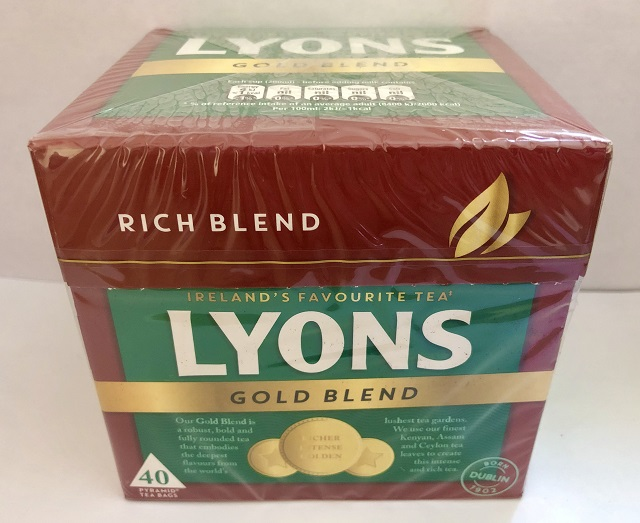 Lyons Irish Tea 40s