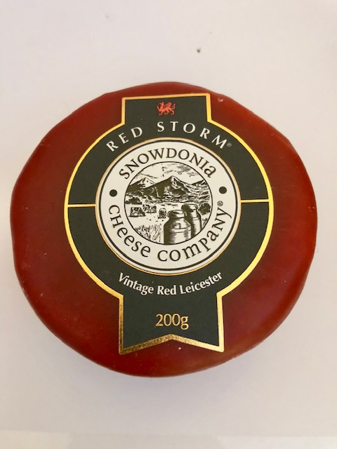 Red Storm - Vintage Red Leicester Cheese